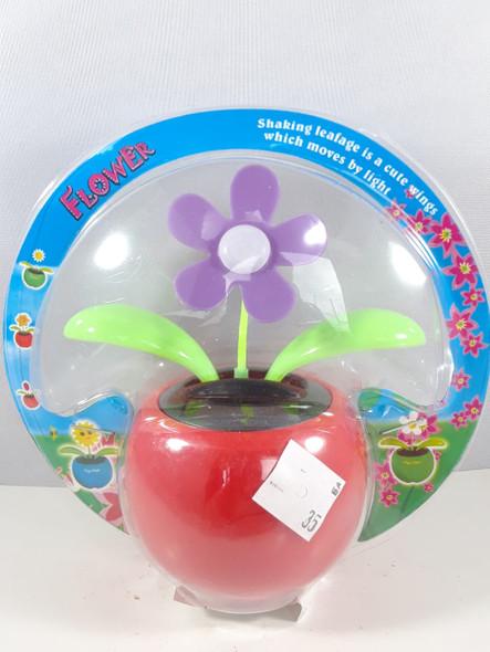Solar Flower, Purple - Flor Solar, Púrpura
