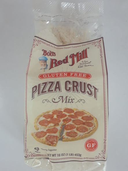 Pizza Crust Mix, Gluten Free, 16 oz. - Mezcla de Corteza de Pizza, Sin Gluten, 16 oz.