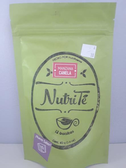 Tea, Apple Cinnamon, 12 Bags - Te, Manzana Canela, 12 Bolsitas