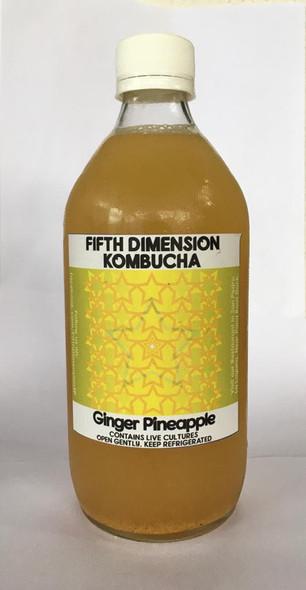 Kombucha, Ginger Pineapple - Kombucha Jengibre y Pina