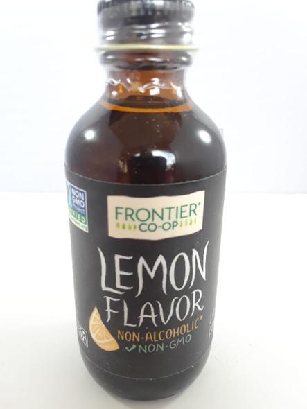 Lemon Flavor, Non Alcoholic, 2 fl oz. - Sabor a Limón, sin Alcohol, 2 fl oz.