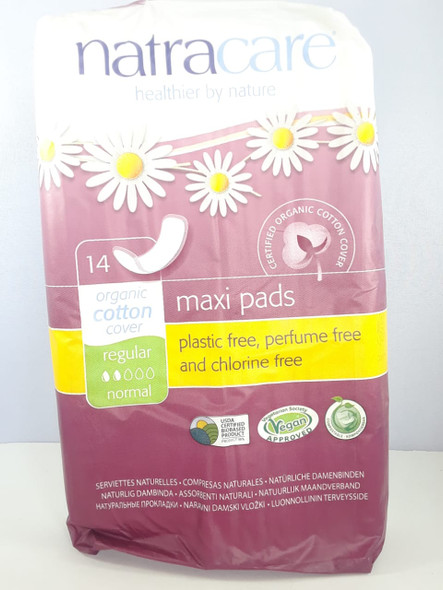 Maxi Pads, Regular, 14 Pads - Almohadillas Maxi, Normal, 14 Almohadillas