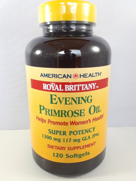 Evening Primrose Oil, 1300 MG, 120 Softgels - Aceite de Onagra, 1300 MG, 120 geles suaves