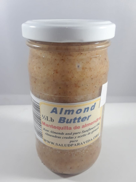 Almond Butter, 8 oz. - Mantequilla de Almendra, 8 oz.