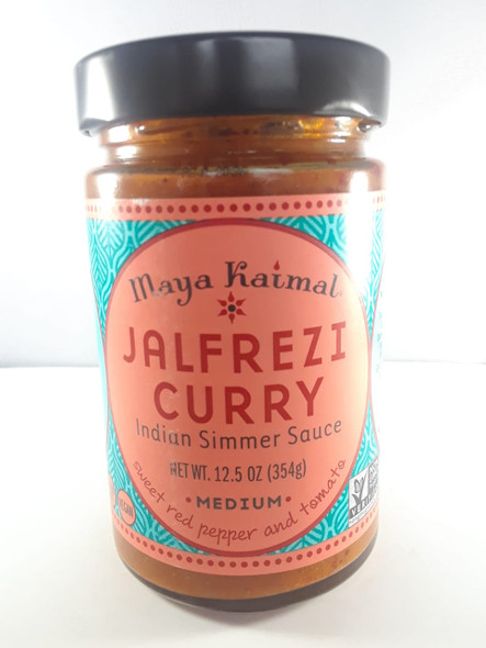 Jalfrezi Curry Sauce, Medium, 12.5 oz. - Salsa de curry Jalfrezi, mediana, 12.5 oz.