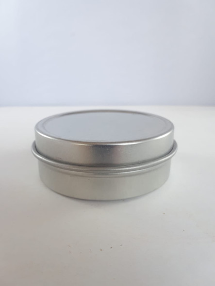 Metal Tin, Empty, 1 oz. - Lata de metal, 1 oz., Vacia