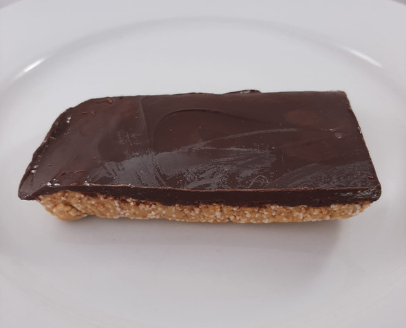 Chocolate Peanut Butter Bar, Vegan - Barra de chocolate y mantequilla de maní, Vegano