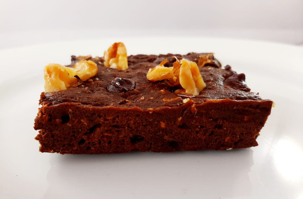 Brownie with Walnuts - Brownie con nueces