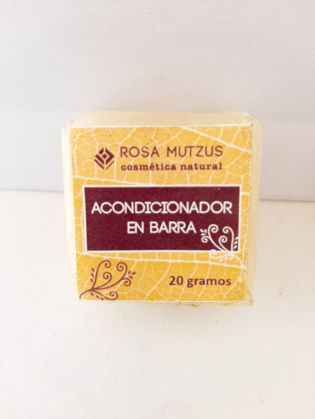 Conditioner, Bar, 20 gr. - Acondicionador, Bar, 20 gr.