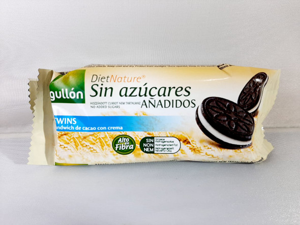 Sandwich Cookies, No-Sugar, Cacao & Cream, 1 Pack - Galletas de Sandwich, Sin Azucares, Cacao y Crema,