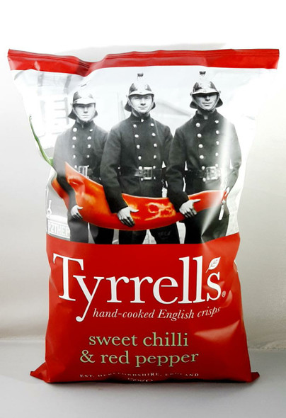 Chips, Sweet Chili & Red Pepper, 150 Gr. - Papas, Chile Dulce y Pimiento Rojo, 150 Gr.