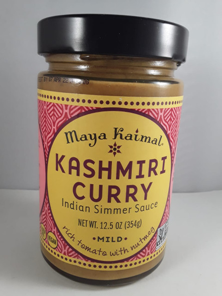 Kashmiri Curry, Mild, 12.5 oz. - Curry de Cachemira, Suave, 12.5 oz.