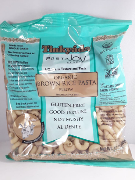 Pasta, Brown Rice Elbows, Gluten Free, 12 oz. - Pasta, Codos de Arroz Integral, Sin Gluten, 12 oz.