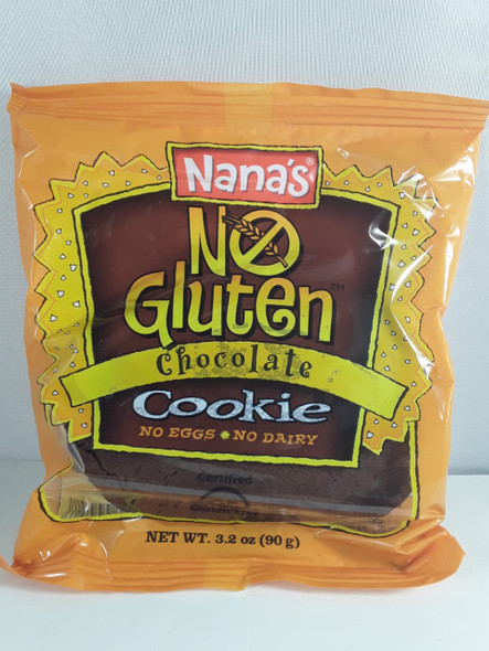 Cookie, No Dairy or Gluten, Chocolate, 3.2 oz. - Galletas, no Lácteos o Gluten, Chocolate, 3.2 oz.