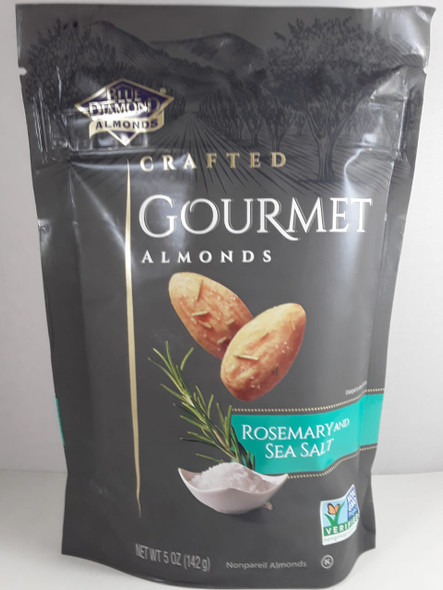 Almonds, Rosemary & Sea Salt, 5 oz. - Almendras, Romero y sal de Mar, 5 oz.