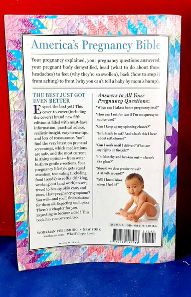 What to Expect When You're Expecting - Heidi Murkoff and Sharon Mazel