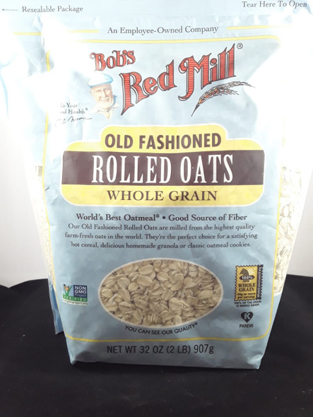 Rolled Oats, Old Fashioned, Whole Grain, 32 oz. - Avena Arrollada, Old Fashioned, Whole Grain, 32 oz.