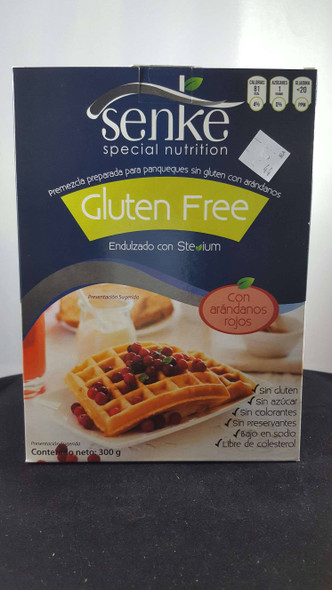 Pancake Mix, Gluten-Free, with Blueberries, Sweetened with Stevia, 300 g - Premezcla para Panqueques sin Gluten con Arandanos, 300 g