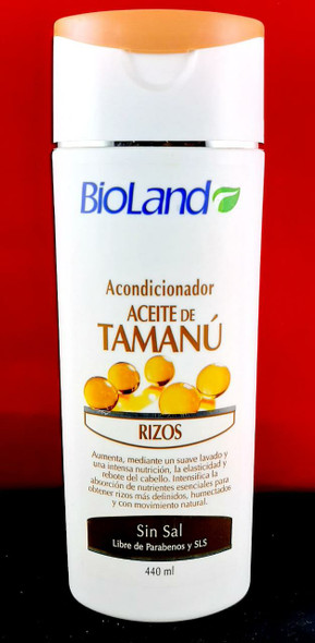 Conditioner,  Tamanu Oil, 440 ML - Acondicionador, Aceite de Tamanu, 440 ML
