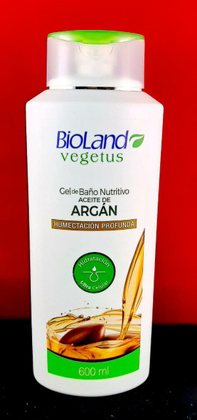 Bath Gel, Argan Oil, Deep Hydration, 600 ML - Gel de Bano , Aceite de Argan, 600 ML