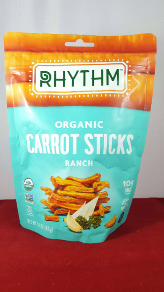 Carrot Sticks, Ranch, Vegan, Organic - Palitos de Zanahoria, Rancho, Vegano, Orgánico