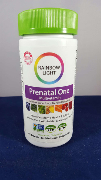 MultiVitamin, Prenatal One, 45 Tablets - MultiVitamina, Prenatal One, 45 Tabletas