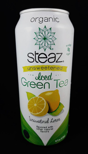 Tea, Iced Green, Unsweetened Lemonade, 16 fl  oz. - Té Verde Helado, Limonada sin Azúcar, 16 fl oz.