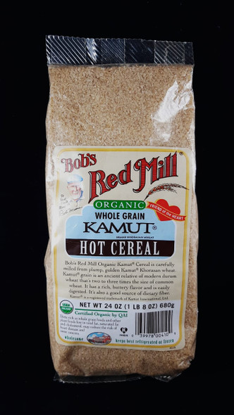 Kamut, Hot Cereal, Organic, 24 oz. - Kamut, Cereal Caliente, Orgánico, 24 oz.