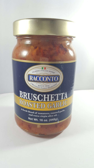 Bruschetta, Roasted Garlic, 16 oz. - Bruschetta, Ajo Asado, 16 oz.
