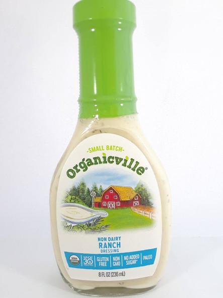 Dressing, Non Dairy Ranch, Organic, 8 fl oz. - Aderezo, no Lácteos Rancho, Orgánico, 8 fl oz.