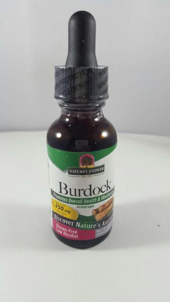 Burdock Extract, Low Alcohol, 1350 mg, 1 fl oz. - Extracto de Bardana, Bajo en Alcohol, 1350 mg, 1 fl oz.
