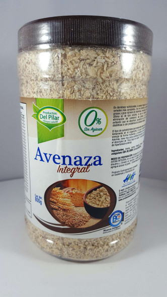 Oat & Flax, Whole Meal, 800g - Avena y Linaza, 800g