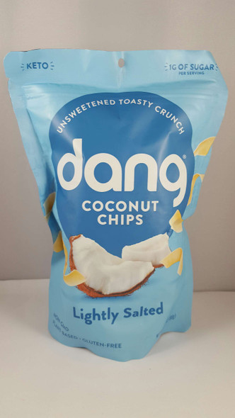 Coconut Chips, Lightly Salted - Chips de Coco, Ligeramente Salados