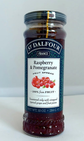 Jelly Conserves, Raspberry Pomegranate, 10 oz - Conservas de Jalea, Frambuesa y Granada, 10 oz