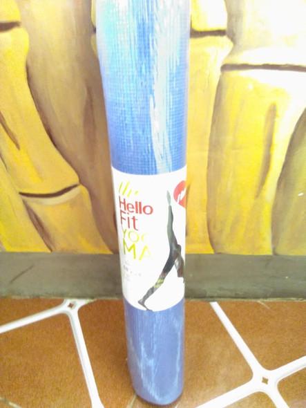 Yoga Mats, 4mm, Assorted Colors - Esteras de Yoga, 4mm, Colores Surtidos