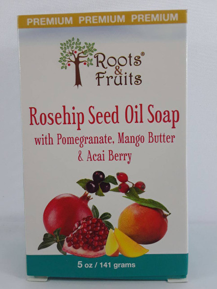 Soap, Rosehip Seed Oil, 5 oz. - Jabón, Aceite de Semilla de Rosa Mosqueta, 5 oz
