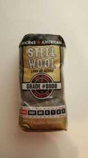 Steel Wool Applicator- #0000 Very Fine for Rejuvenator & Brass Cleaner - 12 PER PKG. plus shipping