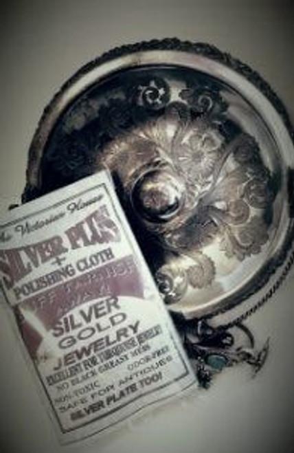 Silver Plus Polishing Cloths (2 per pkg.) No Odor No Mess-