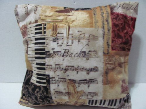 Artsphoria's Music Lover's Pillow