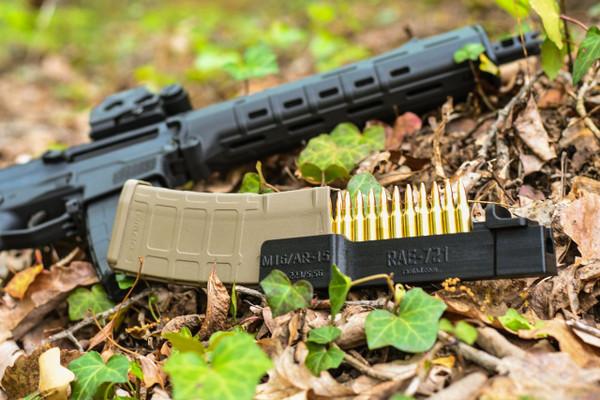 RAEIND AR-15 / M16 Magazine Speedloader (loads 10 rounds in one push)