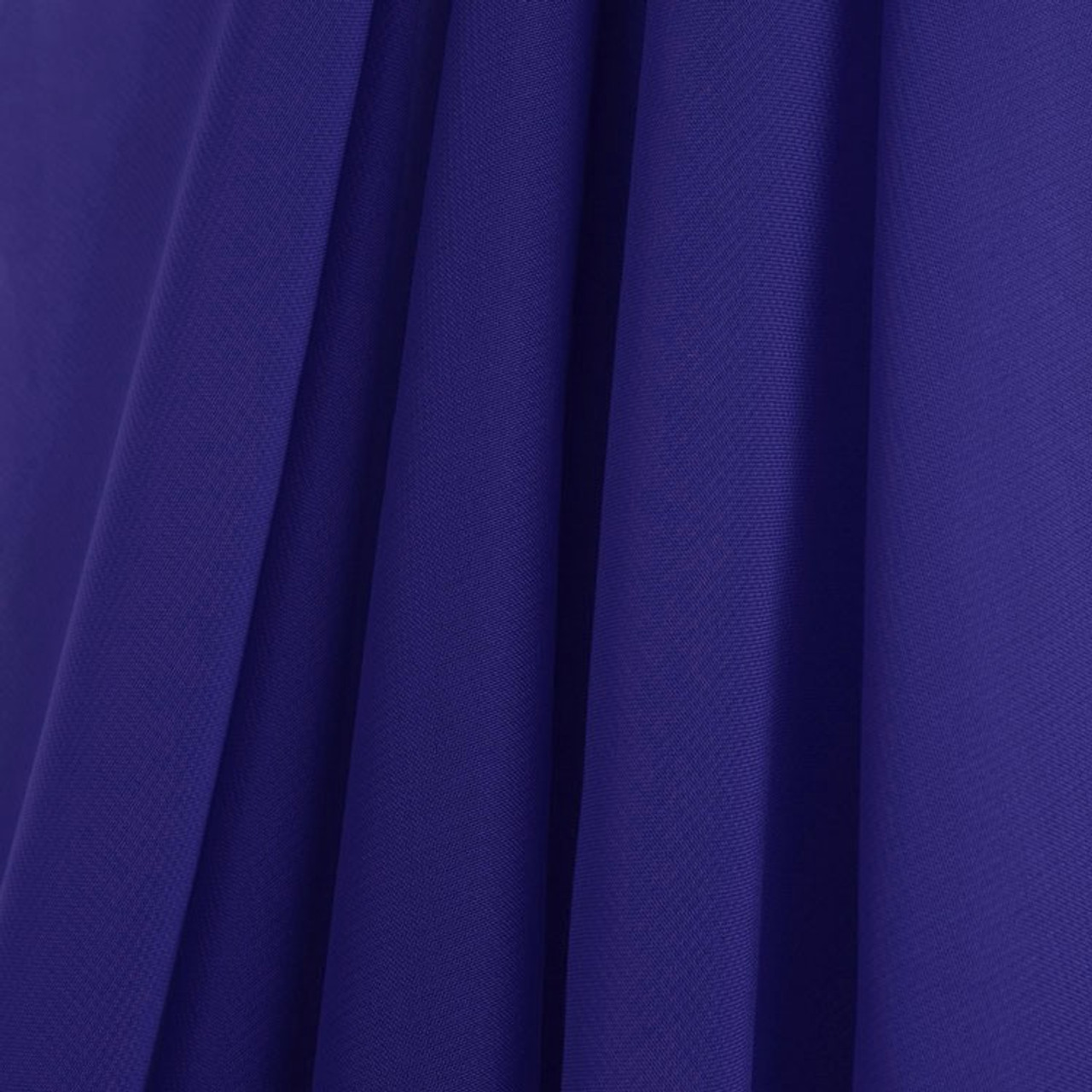 Royal Blue Chiffon Drapes Panels For Wedding Events Decor Backdrop Draping Curtains Ak Trading Co