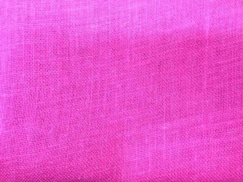 """48"""" Wide Hot Pink Color Jute Burlap Fabric By The Yard"""