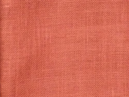"""48"""" Wide Rust Color Jute Burlap Fabric By The Yard"""