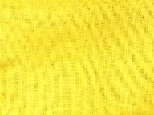 """48"""" Wide Yellow Color Jute Burlap Fabric By The Yard"""