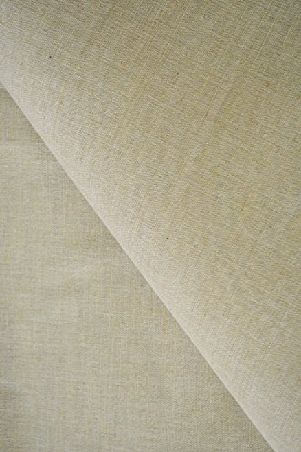 """AK-Trading 60"""" Wide Burlap and Cotton Blend Natural Lint Free Linen Burlap Fabric for Crafts & Decoration (60"""" Wide x 1 Yard Long)"""