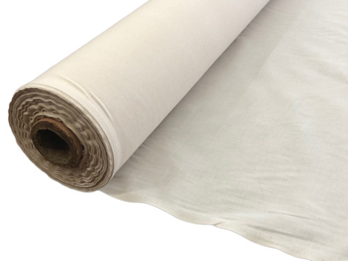 "60"" Wide 100% Unbleached Cotton Muslin Fabric Natural Fabric"