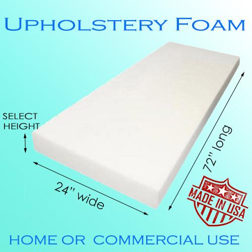 """AK Trading Foam Sheet, 5"""" H x 24"""" W x 72"""" L"""