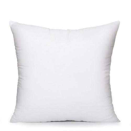 """AK TRADING CO. Square Poly Pillow Insert, 18"""" L X 18"""" White"""
