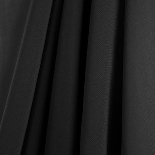 Black Chiffon Drapes Panels for Wedding Events & Decor- Backdrop Draping Curtains