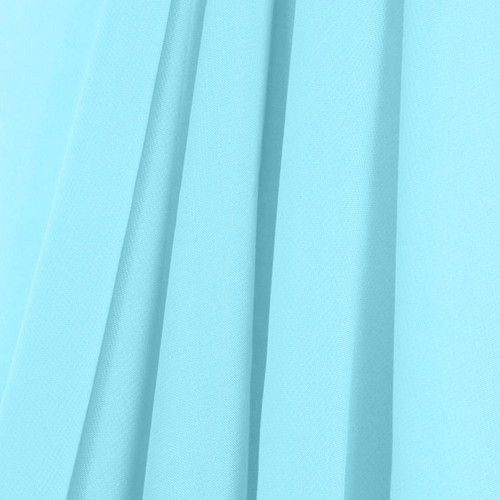 Baby Blue Chiffon Drapes Panels for Wedding Events & Decor- Backdrop Draping Curtains